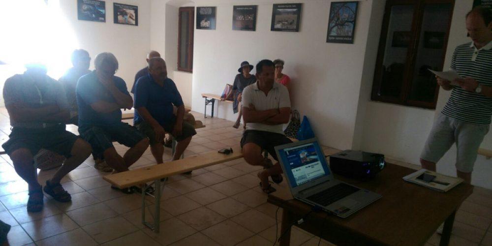 Predstavljanje programa rada udruge na otoku Silbi